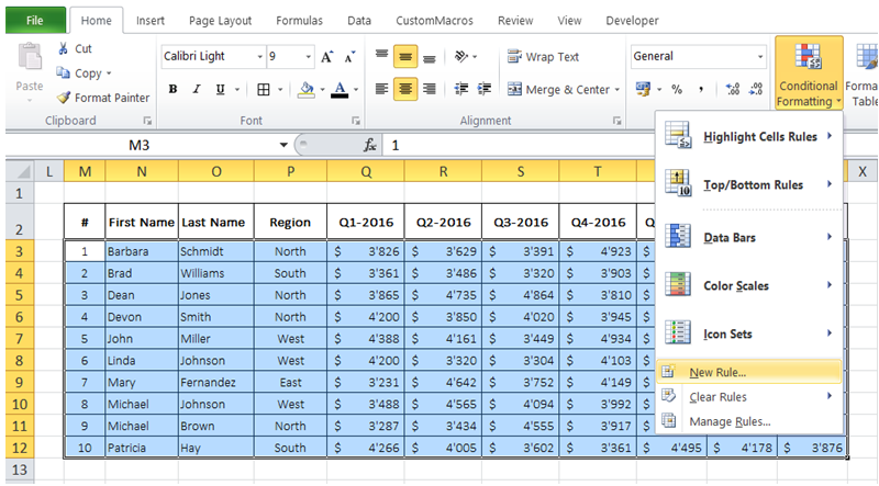 how to clean up empty cells in excel