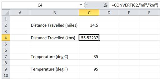 ExcelMadeEasy: Convert measurement units in Excel