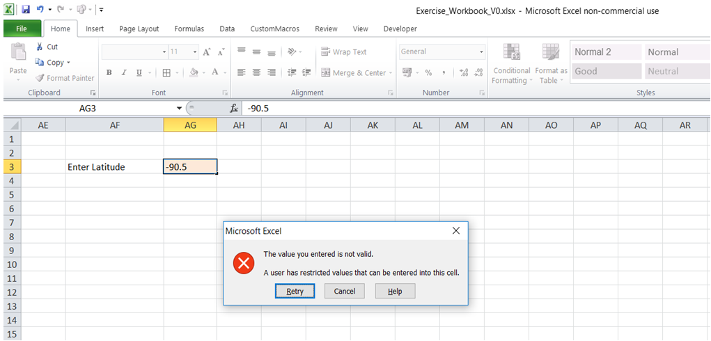excel excel excel define acceptable entries value in cell