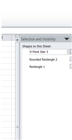 ExcelMadeEasy: Edit all shape names simultaneously in Excel