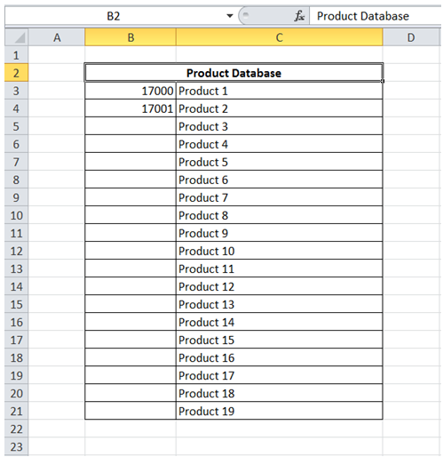 excel fill data series automatically