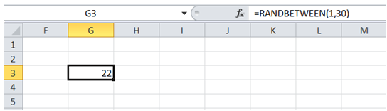 excel random number between 2 limits