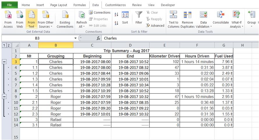 excel excel excel showing total only hiding detail rows