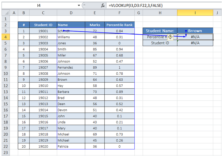 excel trace cell formula error