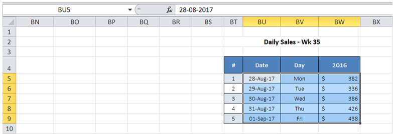 excel use 2 labels in x axis in charts