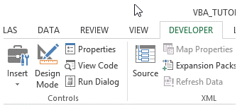 excel vba activex controls