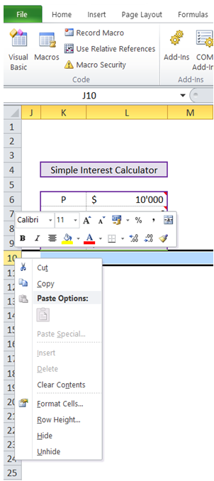 excelmadeeasy  vba disable insert row or column in excel