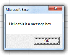 Excel vba msgbox [message box] all you need to know!