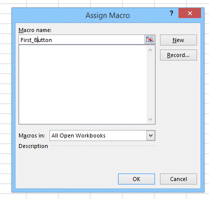 Button in VBA