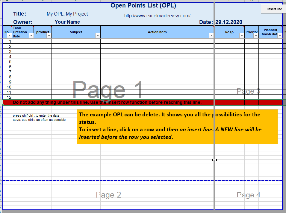 print on one page in excel